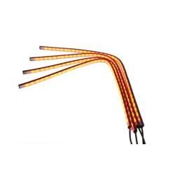 Zestaw 4 pasków LED RGB stop postój kierunkowskaz