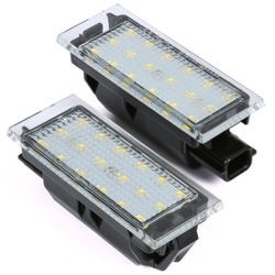 Lampki podświetlenia tablicy rejestracyjnej LED RENAULT