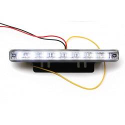 Światła LED do jazdy dziennej diody SMD 3528 DRL 02a