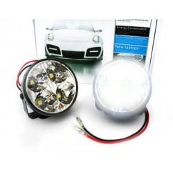 Światła LED do jazdy dziennej okrągłe 70mm DRL 05