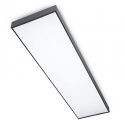 Panel sufitowy LED 50W 120x30 cm natynkowy panel CCD...