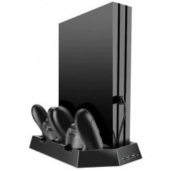 Podstawka chłodząca do PS4 Slim Pro stacja dokująca z HUB...