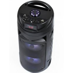 Przenośna kolumna głośnik Bluetooth wejście na mikrofon...