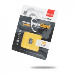 IMRO MicroSDHC 16GB kl.10 UHS-I bez adaptera