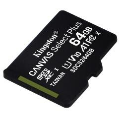 Kingston karta pamięci microSDHC Canvas Select Plus 64GB...