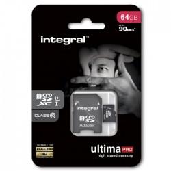 Integral karta pamięci microSDXC Ultima PRO 64GB class 10...