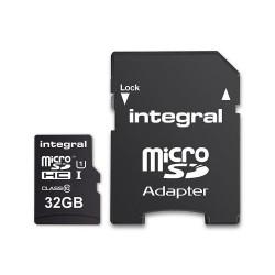 Integral karta pamięci 32GB microSDHC/XC 90MB/s Class 10...