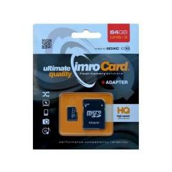 Imro karta pamieci MicroSDXC10/64G ADP UHS-3