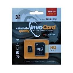 Imro karta pamieci MicroSDXC10/256GB ADP UHS-3