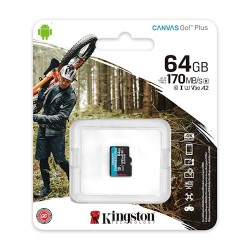 Kingston karta pamięci micro SDXC Canvas Go! Plus 64GB...