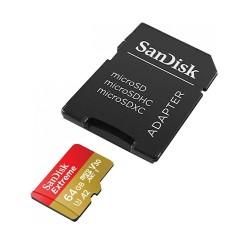 SanDisk Extreme microSDXC 64GB 160/60MB/s UHS-I U3 Mobile...