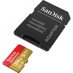 SanDisk Extreme microSDXC 256GB 160/90MB/s UHS-I U3...