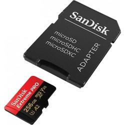 SanDisk Extreme PRO microSDXC 256GB 170/90MB/s UHS-I U3...