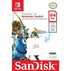 SanDisk karta pamięci Nintendo Switch microSDXC 64 GB...
