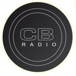 NAKLEJKA POD ANTENĘ CB RADIO CZARNA podkładka 1/05020