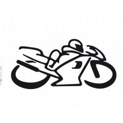 NAKLEJKA hobby MOTOCYKLISTA auto tatuaż