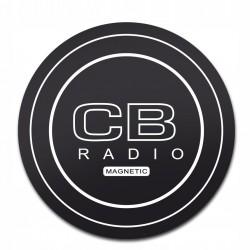 NAKLEJKA POD ANTENĘ CB RADIO MAGNETYCZNA 17`