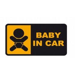 NAKLEJKA BABY IN CAR auto tatuaż