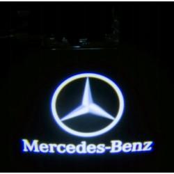 LOGO PROJEKTOR LED dedykowane MERCEDES-BENZ W203 CLK SLK