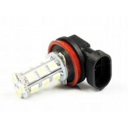 ŻARÓWKA LED H8 H9 H11 18 SMD 5050 DRL
