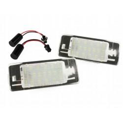 Podświetlenie tablicy rejestracyjnej LED Opel Vectra C...