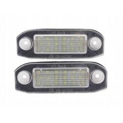 Podświetlenie tablicy rejestracyjnej LED VOLVO C30 S40...