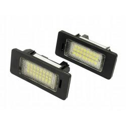 Podświetlenie tablicy rejestracyjnej LED BMW Serii 1 E82...
