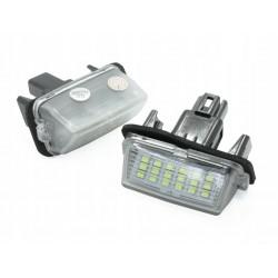 Podświetlenie tablicy rejestracyjnej LED TOYOTA Avensis...