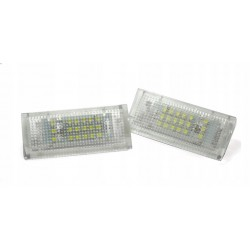Podświetlenie tablicy rejestracyjnej LED BMW E46 Sedan i...