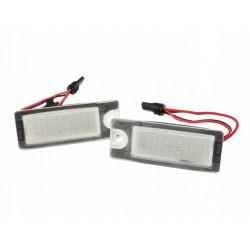 PODŚWIETLENIE LED TABLICY VOLVO S60 S80 V70 XC70 XC90