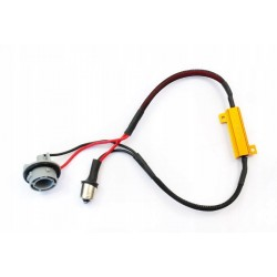 Filtr LED CAN BUS oprawka P21W Ba15S canbus