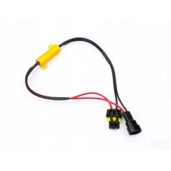 Filtr LED CAN BUS oprawka HB4 9006 canbus