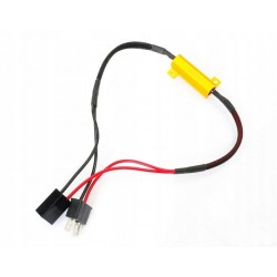 Filtr LED CAN BUS oprawka H7 canbus
