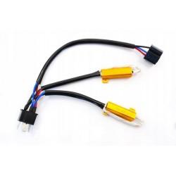 Filtr LED CAN BUS oprawka H4 H/L canbus
