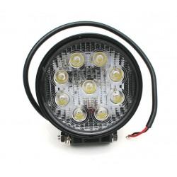 Lampa robocza 27W 9-32V okrągła