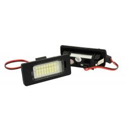 Podświetlenie tablicy rejestracyjnej LED Audi Q5 VW TT...