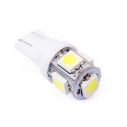 Żarówka samochodowa LED W5W T10 5 SMD 5050 24v
