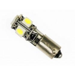 Żarówka samochodowa LED BA9S 5 SMD 5050 CANBUS