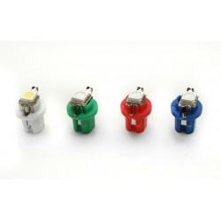 Żarówka samochodowa LED T5 R5 8.5D 1 SMD 5050
