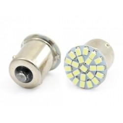 Żarówka samochodowa LED BA15S 22 SMD 1210 FRONT