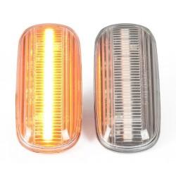 Lampki kierunkowskazów bocznych LED klarowny klosz nie...