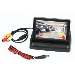 "Panoramiczny składany monitor TFT LCD 4,3"" PZ704"