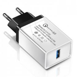 Szybka ładowarka sieciowa USB Quick Charge 3.0 3.1A CA-004