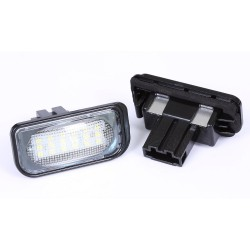 Podświetlenie tablicy rejestracyjnej LED Mercedes:...