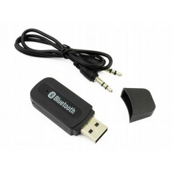 TRANSMITER BLUETOOTH 2.0 AUX USB ADAPTER ODBIORNIK