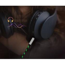 Kabel Mini Jack 1,5M Usztywnione złącza