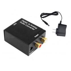Konwerter sygnału AUDIO - Coaxial Toslin SPDIF - RCA