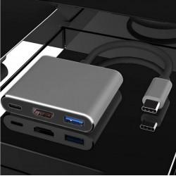 Adapter USB-C Typ-C 3.1 do HDMI USB-C USB 4K do Macbook Air