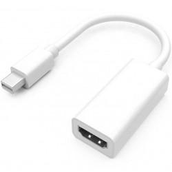 Kabel HDMI (f) - Mini Display Port 4K 20 cm HDMI v1.4