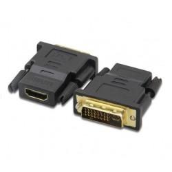 Przejściówka HDMI - DVI GOLD 4K 3D